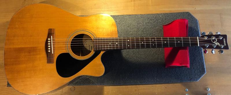 Yamaha FG 411S CE Acoustic Guitar