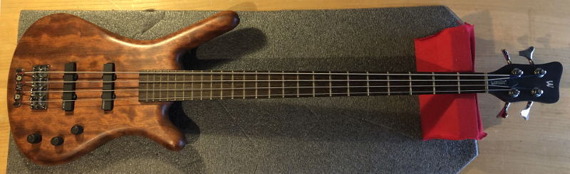 Warwick bass guitar