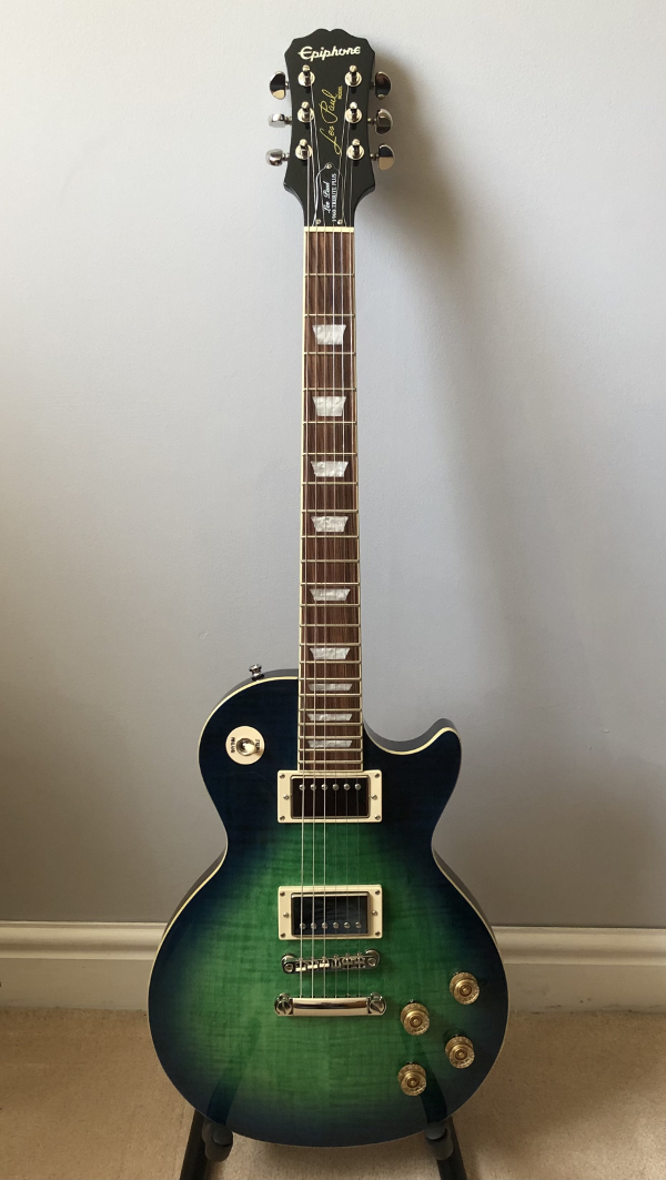 Epiphone Les Paul Tribute Plus 1960 Aquamarine